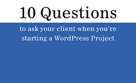 10 questions to ask clients - presentation