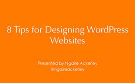 8 tips for designing wp websites