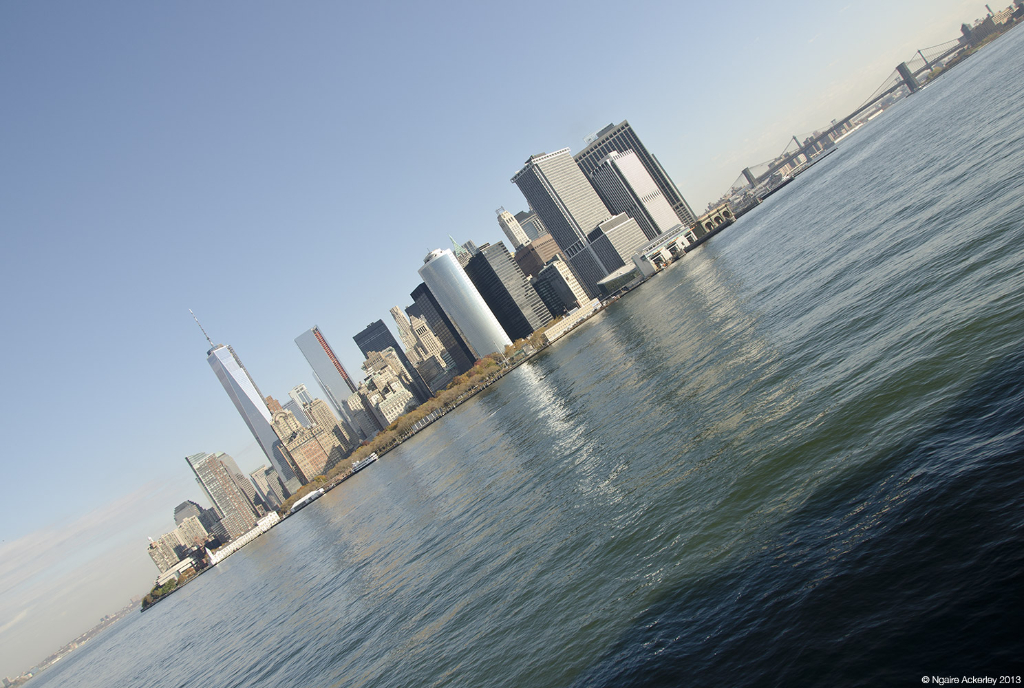 Photograph of Manhattan Island, New York