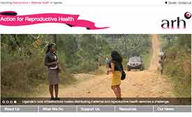 Action for Reproductive Health website