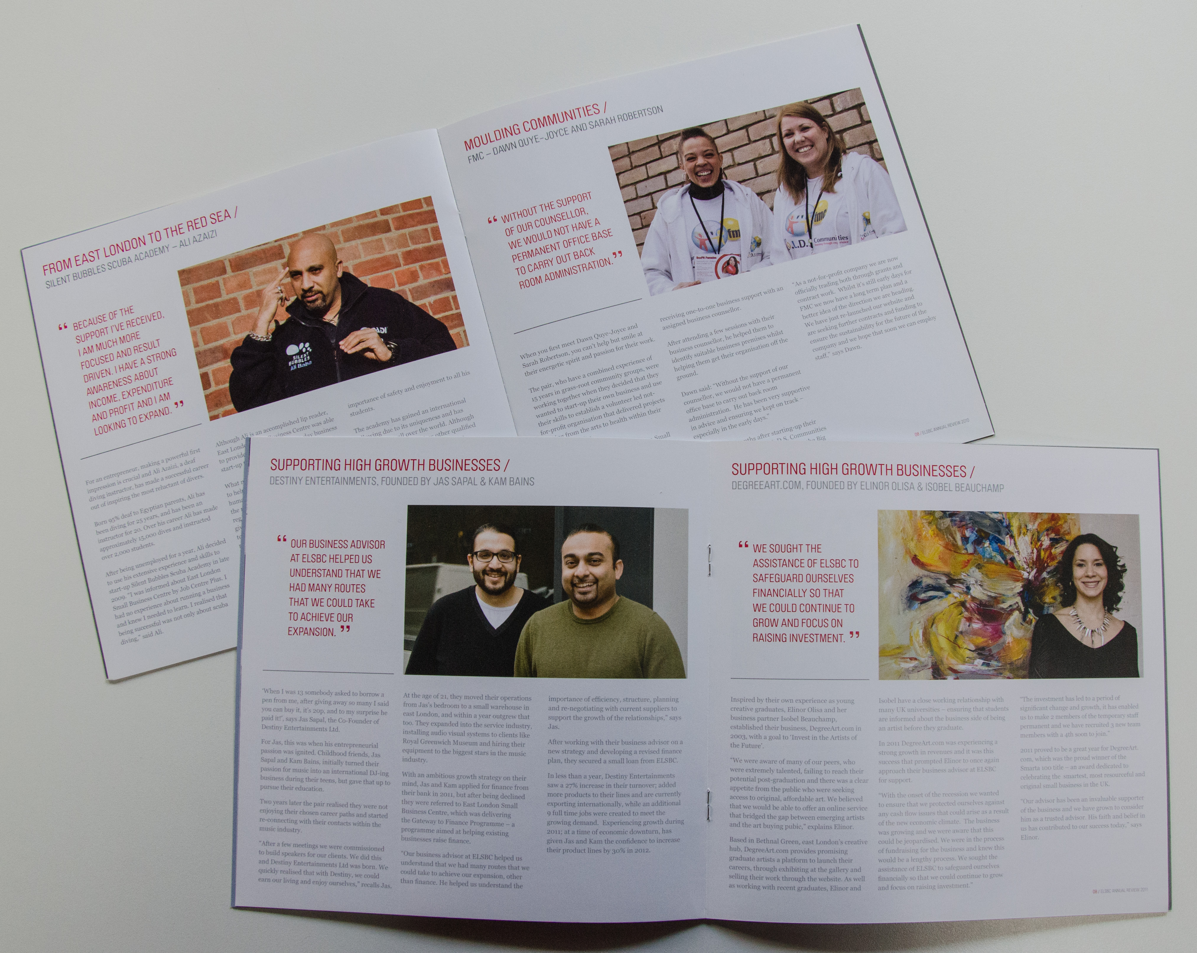ELSBC Annual Reports