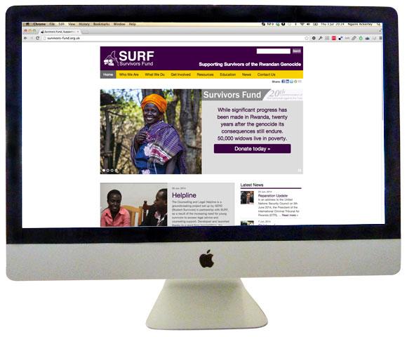 Survivors Fund homepage