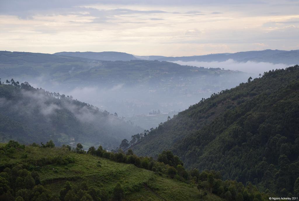 Hills near Lake Bunyonyi, Uganda