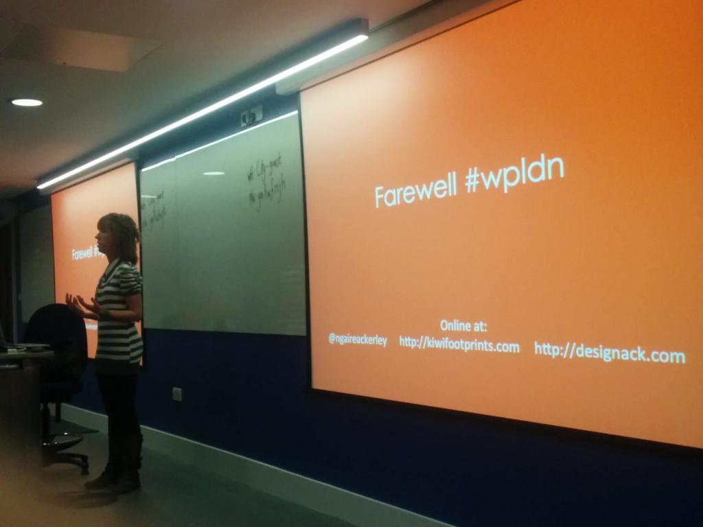 Farewelling the WordPress London Meetup Group, Photo taken by Jenny Wong