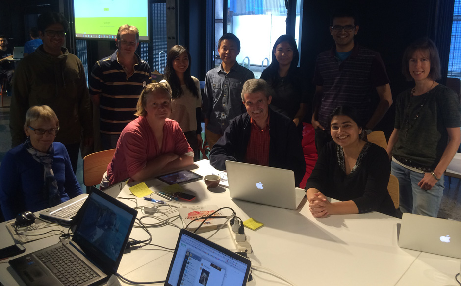 People with Parkinson's Group at Impact NPO's hackathon