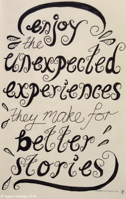 Unexpected experiences